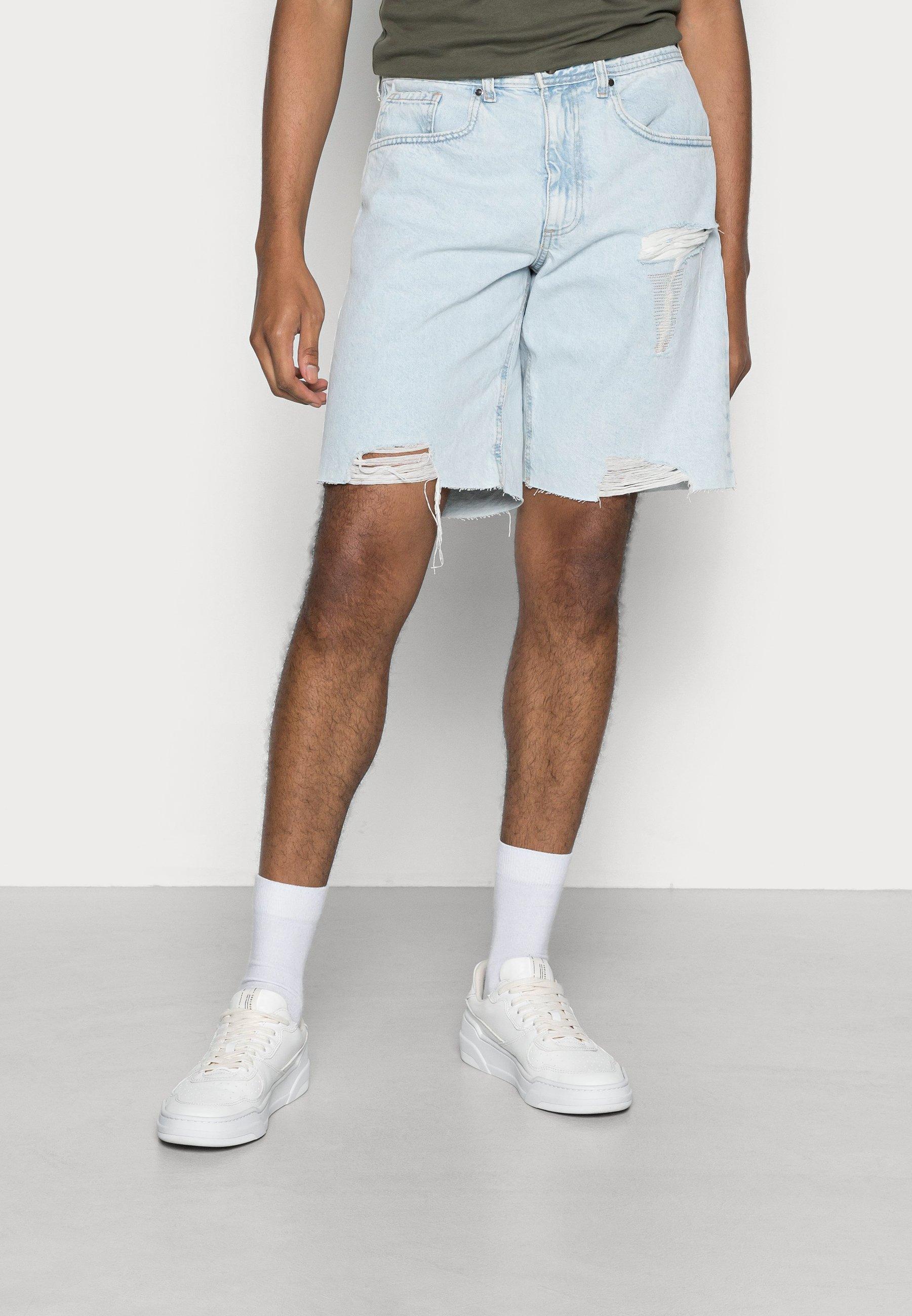 Homme LOOSE STRAIGHT - Short en jean