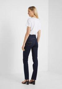 7 for all mankind - BAIR CLEAN RINSE - Straight leg jeans - dark-blue denim - 2