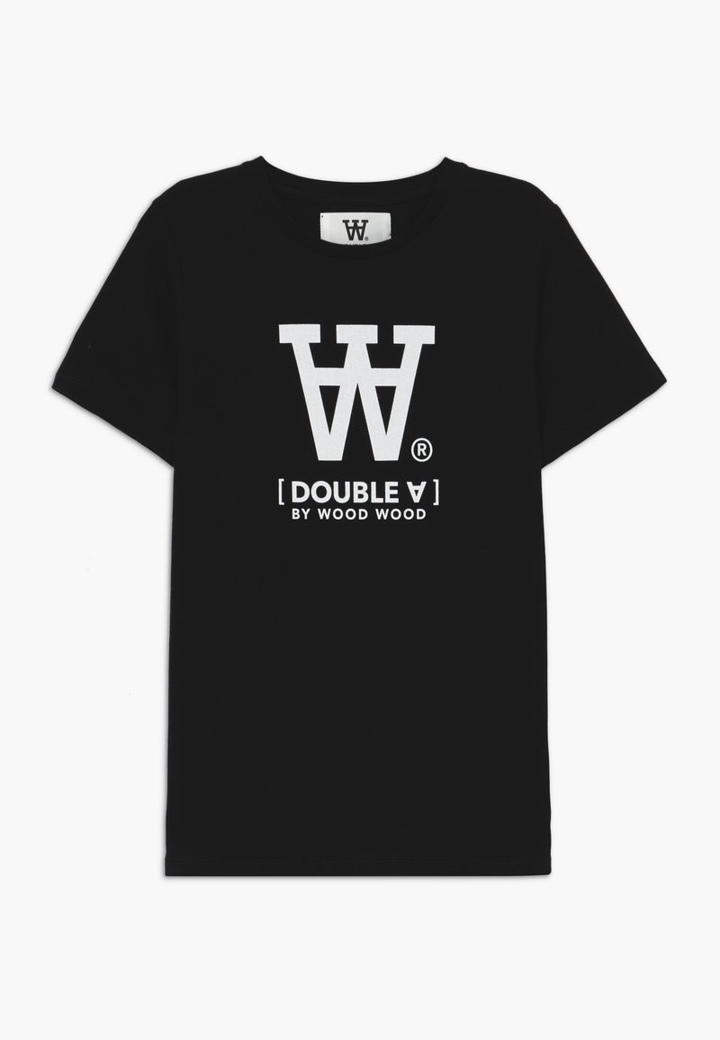 Wood Wood - OLA KIDS - T-shirts print - black