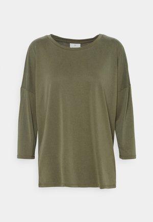KALINE  - Long sleeved top - washed capulet olive