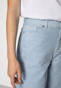 Monki - BEA TROUSERS - Trousers - blue - 4