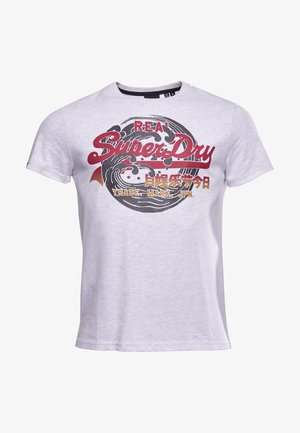 VINTAGE LOGO ITAGO  - Print T-shirt - ice marl