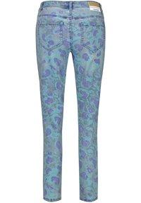 Taifun - Jeans Skinny Fit - blue denim gemustert - 4