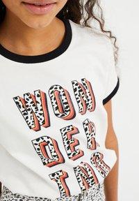 WE Fashion - Camiseta estampada - white - 2