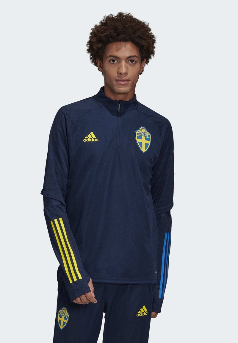 adidas Performance - SWEDEN SVFF TRAINING SHIRT - Koszulka reprezentacji - blue