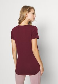 Cotton On Body - MATERNITY GYM TEE - Basic T-shirt - mulberry - 2