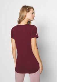 Cotton On Body - MATERNITY GYM TEE - Camiseta básica - mulberry - 2