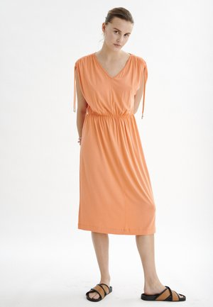 EVIIW - Jersey dress - coral