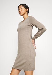 edc by Esprit - DRESS - Jumper dress - taupe - 4