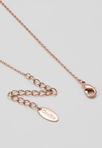 Orelia - CLEAN V NECKLACE - Náhrdelník - rose gold-coloured - 2