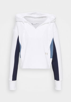 RIVAL HOODIE - Sweater - white
