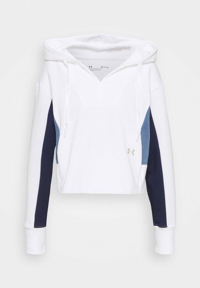RIVAL HOODIE - Bluza - white