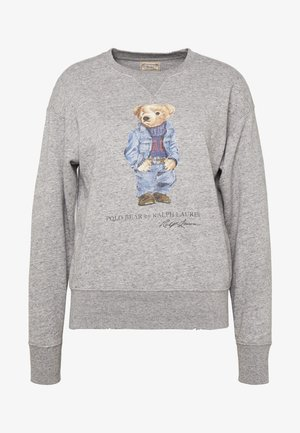 BEAR LONG SLEEVE - Sudadera - dark vintage heat