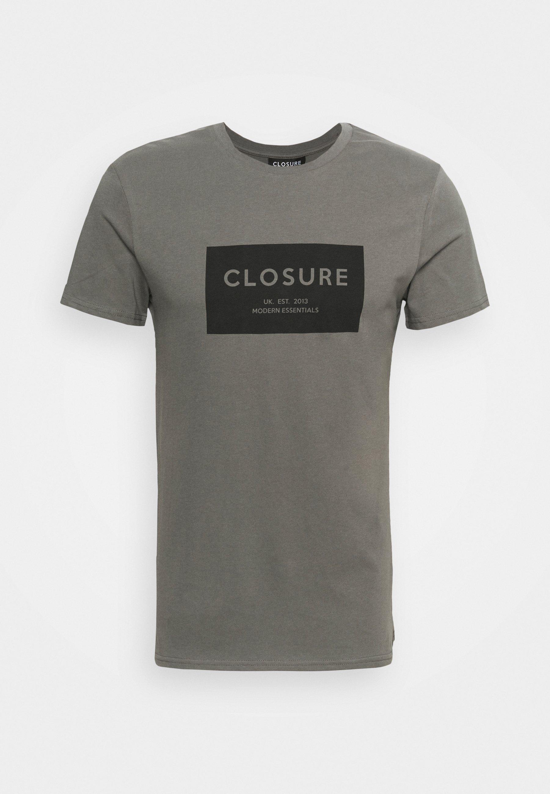 Herren TONAL BOX LOGO TEE - T-Shirt print