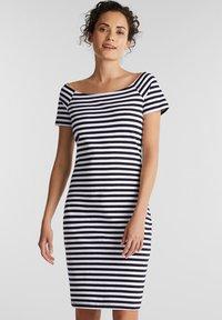 edc by Esprit - Žerzejové šaty - dark blue - 0