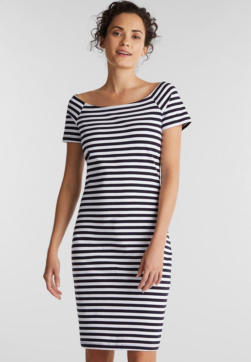 edc by Esprit - Žerzejové šaty - dark blue