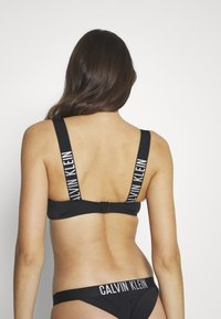 Calvin Klein Swimwear - INTENSE POWER BANDEAU - Bikini top - black - 2