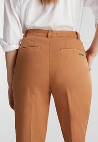 Esprit - FASHION - Trousers - rust brown - 4