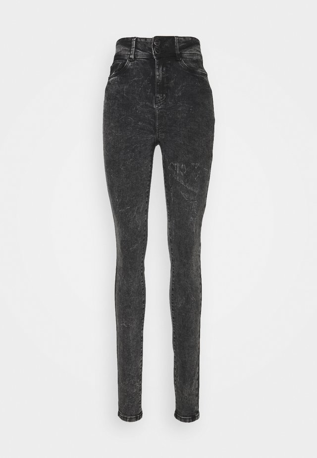 NMAGNES - Jeans Skinny - black denim