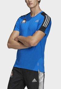 adidas Performance - SPACE TEE M - Sports shirt - fooblu - 3