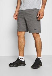 Nike Performance - SHORT - Sportovní kraťasy - charcoal heather/black - 3