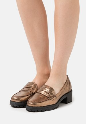 GLINTTS - Slippers - bronze
