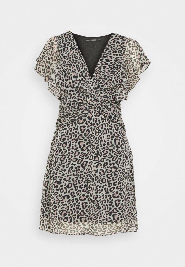 LANA DRESS - Day dress - braun