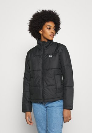 PUFFER WINTER MIDWEIGHT JACKET - Lehká bunda - black