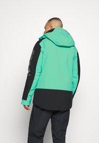 Oakley - Snowboard jacket - black/mint - 2
