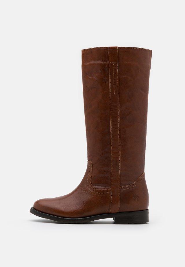 KAREN - Boots - cognac