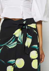 Who What Wear - SARONG SKIRT - A-line skirt - black - 3