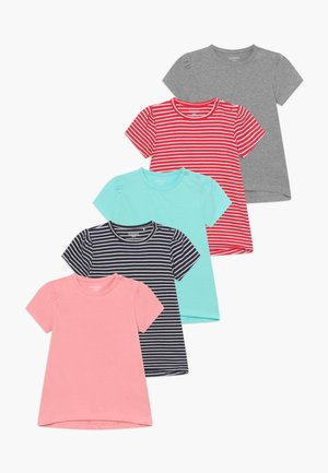 5 PACK - Print T-shirt - multi-coloured