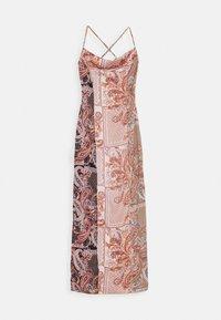 Missguided Tall - PAISLEY COWL NECK CAMI DRESS - Maxi dress - rust - 0
