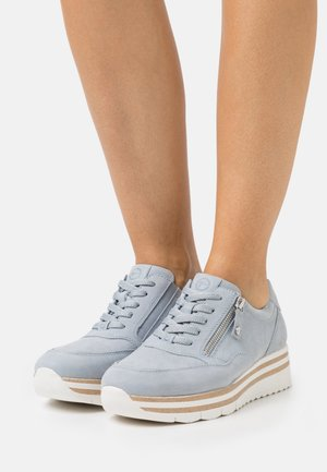 LACE UP - Sneakers laag - sky pearl