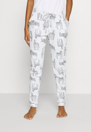 PANT ZEBRA - Pyjamasbukse - soft grey
