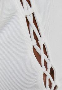 Bershka - Top - off white - 4