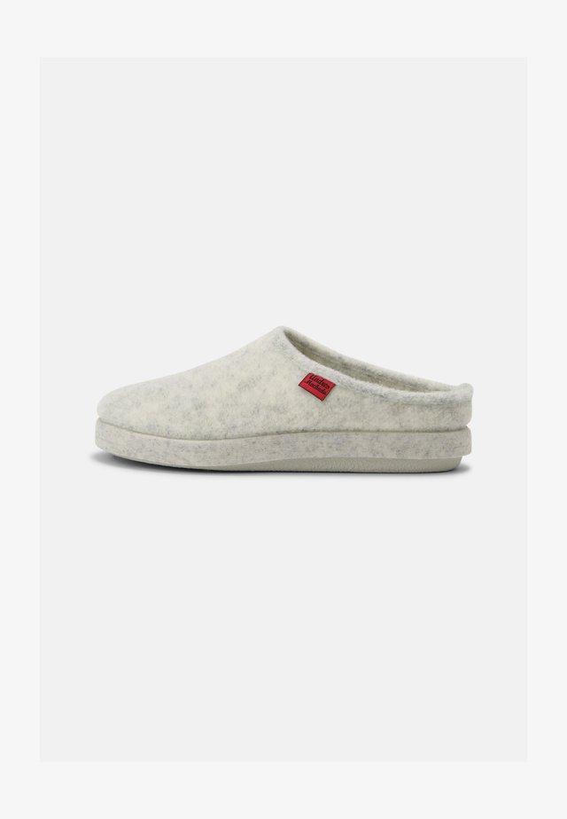 UNISEX - Pantoffels - blanco