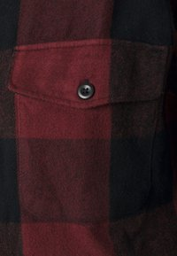 Abercrombie & Fitch - PLAID - Summer jacket - dark red - 2