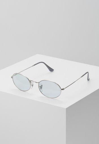 Sunglasses - silver/light blue