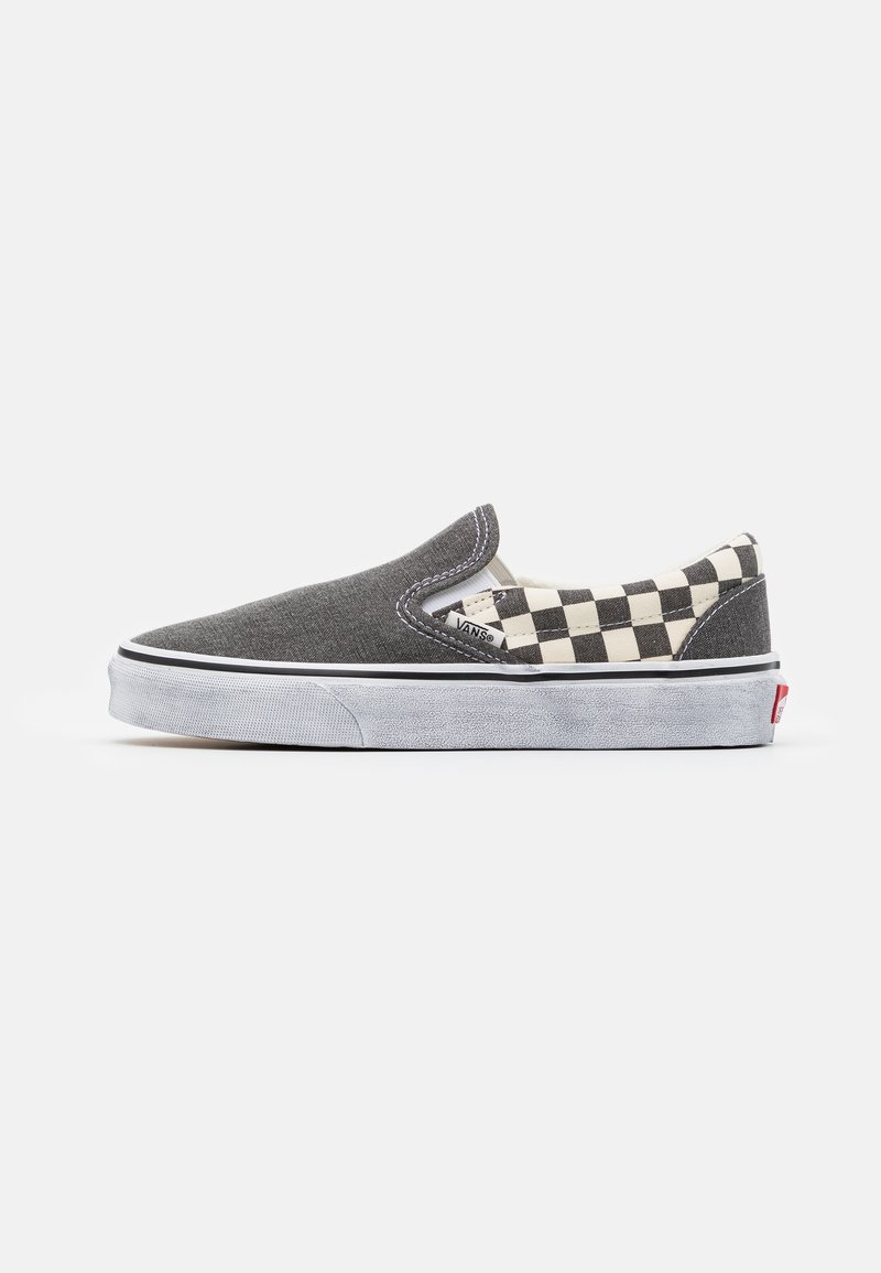 Vans - CLASSIC  - Nazouvací boty - asphalt/true white
