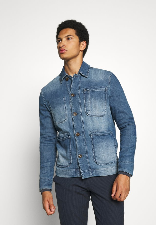 GRAND ELO JACKET - Spijkerjas - blue denim