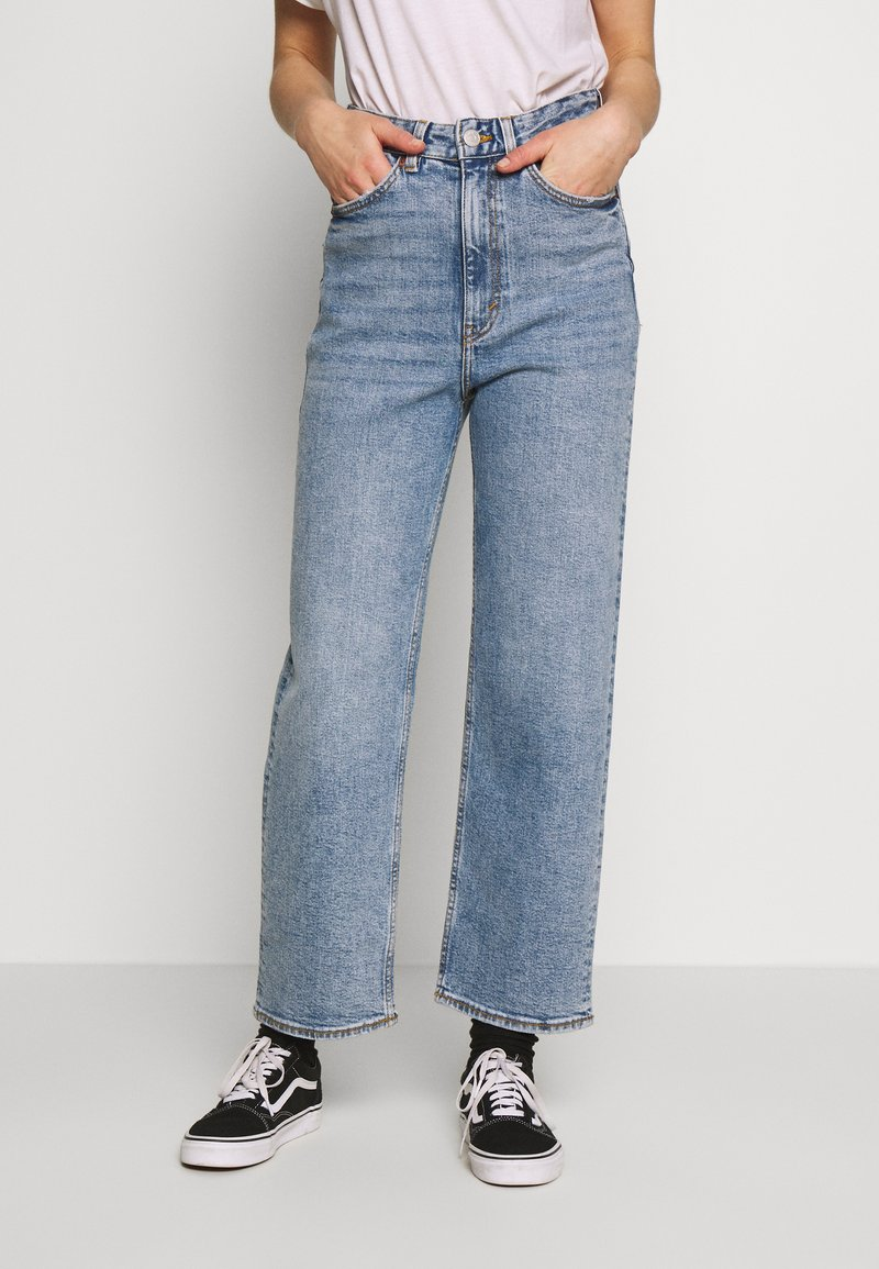 Monki - ZAMI VINTAGE - Jeans relaxed fit - blue