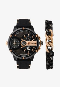 Police - SPECIAL SET - Chronograph watch - black/rose gold-coloured - 1