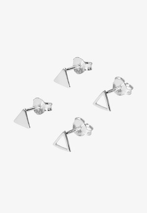 SET - Earrings - silver