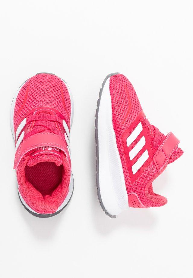 RUNFALCON I UNISEX - Nøytrale løpesko - real pink/footwear white/grey three