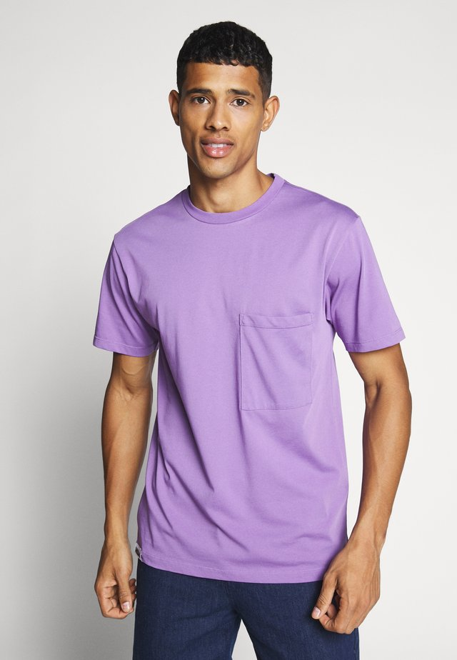 UNISEX POCKET  - T-shirts - lilac
