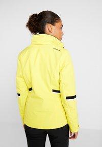 Ziener - TOYAH LADY - Ski jas - yellow power - 4