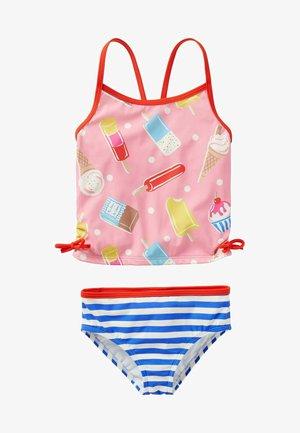 TANKINI SET OF 2 - Swimsuit - hellrosa, eiscreme/getupft