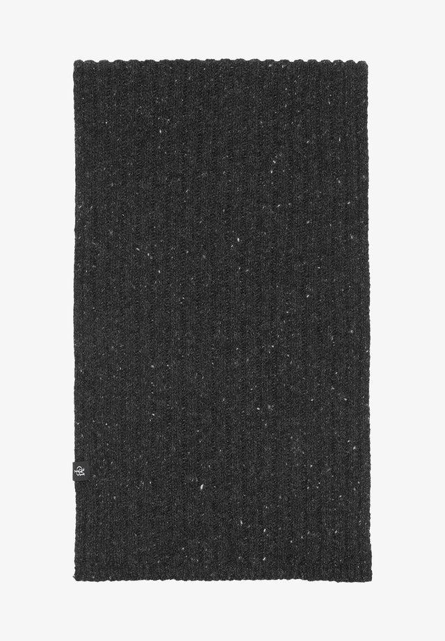 Scarf - dark grey melange