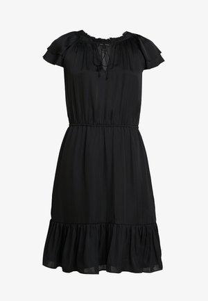 SOFT TIE NECK - Cocktail dress / Party dress - black